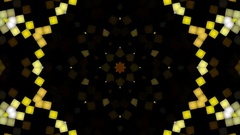 Kaleidoscopic background. Looped Stock Footage