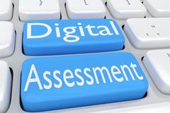 Digital Assessment concept Stock Illustration