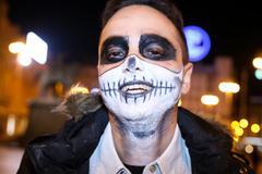 Halloween, Zagreb, Croatia. Stock Photos