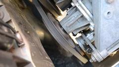 Running engine Stock Footage