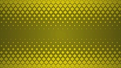 Yellow Repeating Square Pattern Design Background. Stock Footage