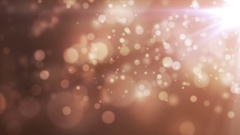 Glitter Bokeh Lights Abstract Background Stock Footage