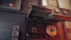Hopper control Stock Footage