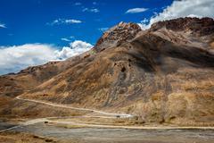 Manali-Leh road in Himalayas Stock Photos