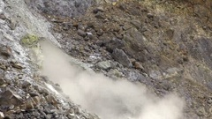 Slow motion of a Hot Geothermal Spring In Yang Ming Shan National Park-Dan Stock Footage