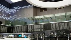 Frankfurt Stock Exchange Stock Footage