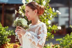 Wedding bliss Stock Photos