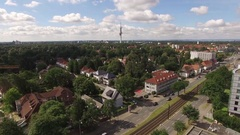 Hannover - Aerial Stock Footage