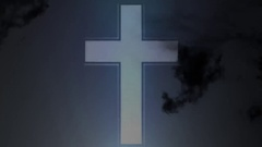 Religion faith cross Stock Footage