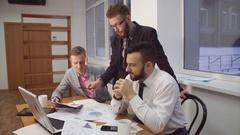 Team job. Startup Diversity Teamwork Brainstorming Meeting Arkistovideo