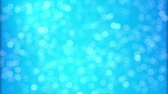Christmas Background Blue Abstract Stock Footage