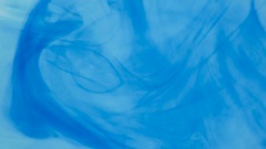 Abstract Blue Color Liquid Backdrop Stock Footage