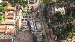 Hannover Aerial Stock Footage