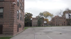 Lathrop Homes in Chicago Stock Footage