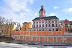 Church of the Annunciation of the Alexander Nevsky Lavra. Stock Photos