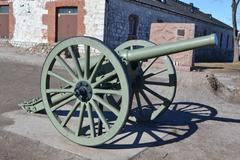 Antique cannon in Lappeenranta. Kuvituskuvat
