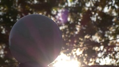 Lantern day bokeh sunshine Stock Footage