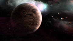 STOCK planet 1 clip 2 Stock Footage