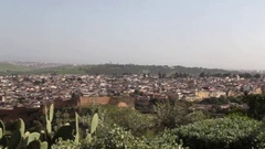 View of Medina of Fez Stock Footage