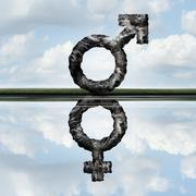 Equal Rights Concept Stock Illustration