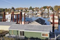River living in Portland Oregon. Kuvituskuvat