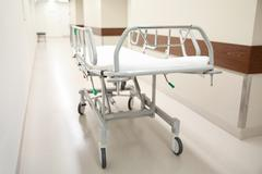 Hospital gurney or stretcher at emergency room Kuvituskuvat