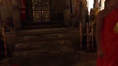 Temple of Tooth Relic (Sri Dalada Maligava) in Kandy, Sri Lanka Stock Footage