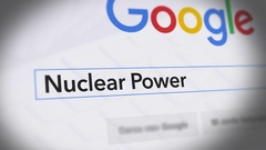 Google Search Engine - Search For Nuclear Power Stock Footage