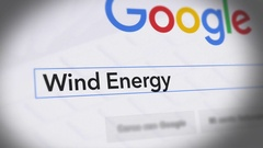 Google Search Engine - Search For Wind Energy Stock Footage