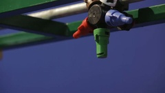 Agricultural sprayer close up Stock Footage