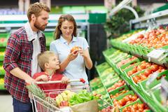 Tomato assortment Stock Photos