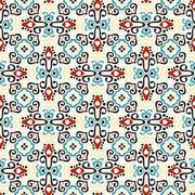 Bright Weave Pattern Stock Illustration