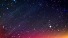 Traveling in Space Stock Footage