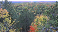 4K UltraHD Timelapse over Algonquin, Canada Stock Footage