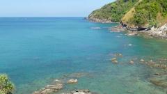 Landscape on Koh Lanta island, Thailand, 4k Stock Footage