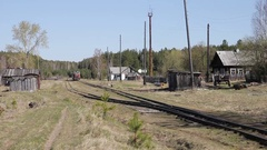 Narrow-gauge railway Stock Footage