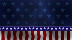 USA Patriotic Background Loop Stock Footage