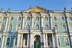 Winter Palace, St.Petersburg. Stock Photos