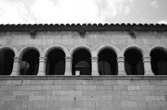 House in the medieval quarter of Girona Kuvituskuvat