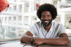 Portrait Of Mature Male University Student On Campus Kuvituskuvat