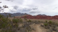 Red Rock Canyon Nevada - Still Shot Stock Footage