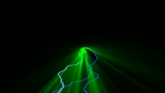 VOLUMETRIC LIGHTS,abstract Video Stock Footage