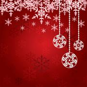 Abstract winter background Stock Illustration