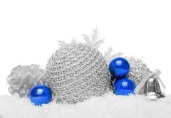 Christmas ball baubles. Kuvituskuvat