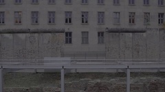 Berlin Hole in the Wall 4K Stock Footage