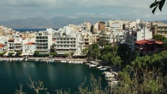 City in the Greek style. Stock Footage