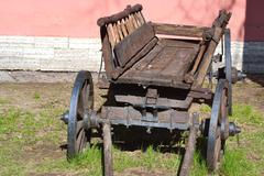 Old antique wagon Stock Photos