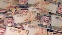 Bahrain - Arab Money - Zoom In Stock Footage