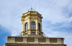 A building in the old part of Minsk Stock Photos