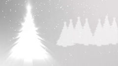 Abstract Background - Christmas theme Stock Footage